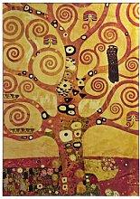 Quadro con lavorazione in foglia dorata - Klimt