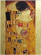 Quadro con lavorazione in foglia dorata - Klimt Il