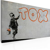 Quadro - Tappezzeria Graffiti Banksy 60x40cm Erroi