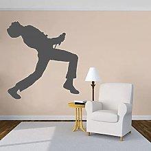 Queen cantante adesivo murale adesivo cantante