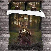 QWAS Groot It - Set di biancheria da letto con