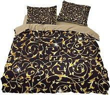 QWAS Lussuoso set di biancheria da letto, non
