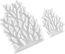 QWET 2 stampi per fondente in corallo fai da te