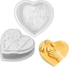 QWET - Stampo da forno a forma di cuore, per la