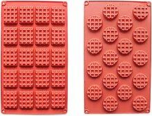 QWET - Stampo per cialde QWET, 2 pezzi, 18/20