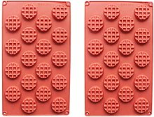 QWET - Stampo per cialde QWET, 2 pezzi, 18