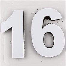 QWET - Stampo per torta QWET, numero 0-8 formine