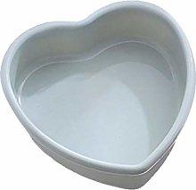 QWET - Teglia per torte a forma di cuore, per