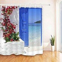 QWYEH Tenda della docciaTenda da Doccia da