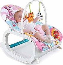 Rabbfay Baby - Sedia a dondolo multifunzionale per