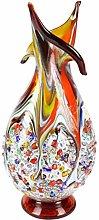 Rapsodia - Vaso in Vetro di Murano e Murrine