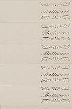 RC2 Corporation 20 BIGLIETTINI PER BATTESIMO, CON