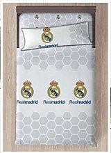Real Madrid - Set di lenzuola e federe, con spilli