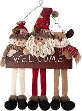 Rebecca Mobili Decorazione Addobbo Porta Natale