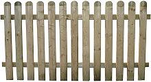 Recinto In Legno Per Giardino 180 X 100 Cm