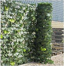 Recinzione di edera artificiale pannelli di siepi