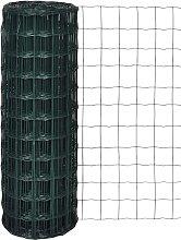 Recinzione Europea in Acciaio Verde 10 x 1,0 m -
