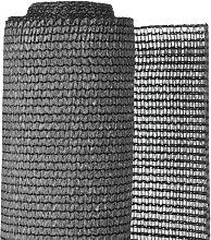 Recinzione Frangivento in PE 1,5x5 m Antracite -