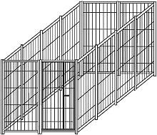 Recinzione in rete modulare 4x2 metri con