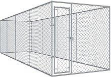 Recinzione per Cani da Esterno 760x192x185 cm -