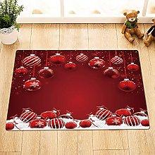 Red Christmas balls Indoor antiscivolo porta
