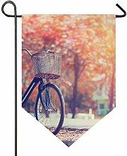 REFFW Bandiera da Giardino con Bandiera per Bici