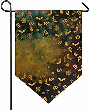 REFFW Banner bifacciale Bandiera da Giardino per