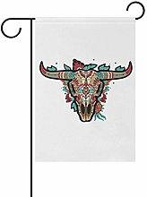 REFFW for Outdoor Lawn Decor Banner Art Buffalo