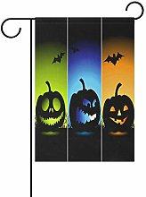 REFFW Home Lettera Halloween Pipistrello di Zucca