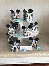 regalami.Shop Set 12 scatoline Disney Topolino 5x5