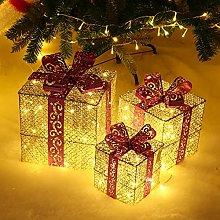Regali Di Natale Scatole Luminose Set Di 3 Set Con
