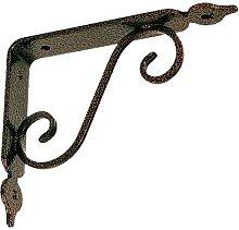Reggimensola Ferro Battuto Mm.230X175 Rame Antico