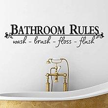 Regole del bagno di vendita caldo citazioni