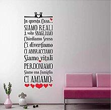 Regole della casa Regole della famiglia italiana