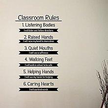 Regole Della Classe Stickers Murali Educazione