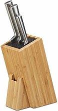 Relaxdays 10022159 Ceppo Porta-coltelli con Setole