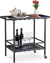 Relaxdays Carrello Minibar, da Cucina o Giardino,