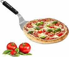 relaxdays Pala per Pizza con Manico in Legno,