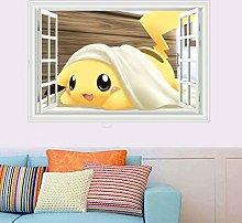 Renfengchui Pokemon Pokemon Pikachu - Adesivo