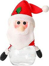 Renococo Barattolo di Caramelle di Natale Babbo