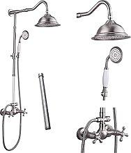 RenXin, set di rubinetti doccia in nichel