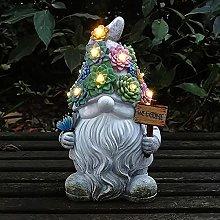 Resina Dwarf Statua Esterna Creativo Fatina Art