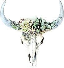 Resina Testa toro Scultura Artigianato Imitazione
