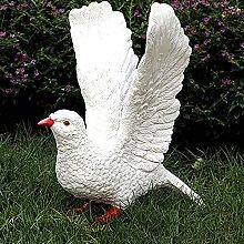 Resina Uccello Statue Da Giardino,Simulazione