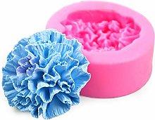 Rethyrel - Stampo in silicone a forma di fiore,