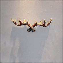 Retro Antlers Appendiabiti da Parete