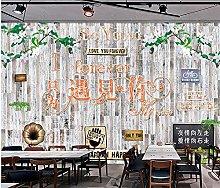 Retro Nostalgic Youth Restaurant Bar Sfondo in