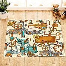 Retro vapore modello Indoor antiscivolo tappetino