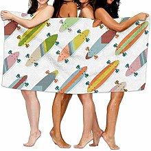 RFVBG - Asciugamani da bagno colorati per adulti e