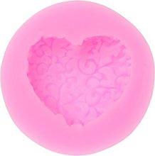 RG-FA - Stampo in silicone 3D a forma di cuore,